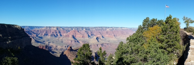 Grand Canyon w flag