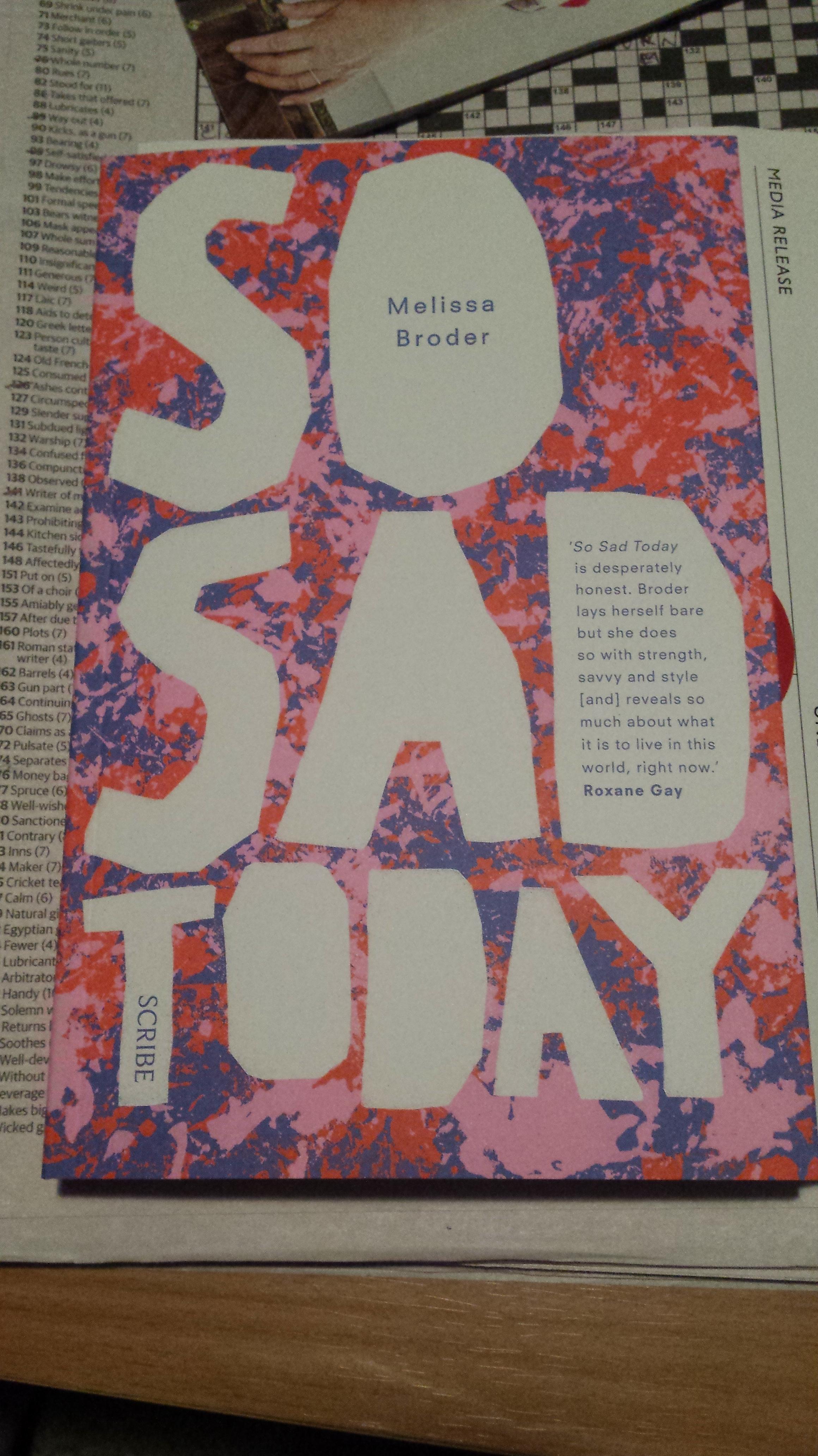 So Sad Today review – Sam van Zweden